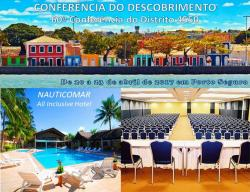 panfleto Conferência do Descobrimento