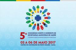 panfleto 6º Congresso dos Secretários Municipais de Saúde da Bahia
