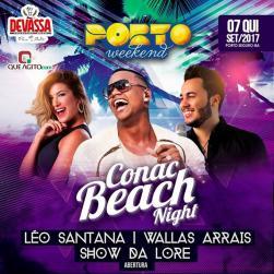 panfleto Conac Fantasy - Léo Santana