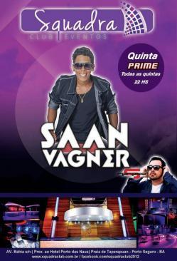 panfleto Quinta Prime com Saan Vagner