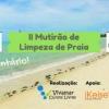 panfleto  2° Mutirão de Limpeza da praia do Mutá
