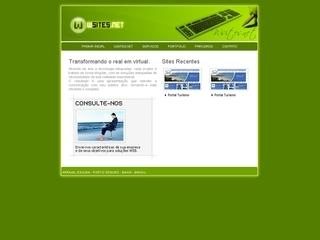 panfleto WSITES.NET - Transformando o real em virtual