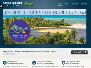 panfleto Pousada Casinhas da Bahia