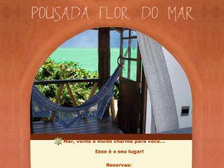 panfleto Pousada Flor do Mar