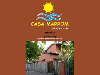 panfleto Casa Marrom - Casa do Rodrigo