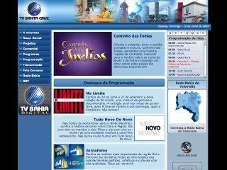 panfleto TV Santa Cruz