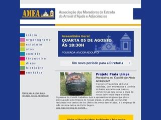 panfleto AMEA