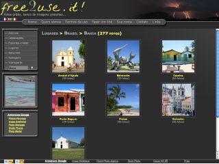 panfleto Free2use-it - Fotos grátis Porto Seguro e Arraial
