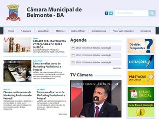 panfleto Câmara Municipal de Belmonte