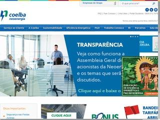 panfleto COELBA - Companhia de Eletricidade do Estado da Bahia