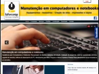 panfleto Inforcomp Informática