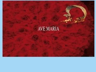 panfleto Ave Maria