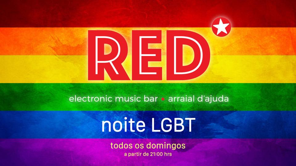 - Red Club - Rua do Mucugê, 301, Domingo 22 de Abril de 2018