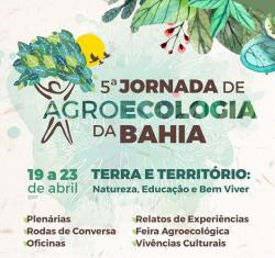 panfleto 5ª Jornada de Agroecologia da Bahia