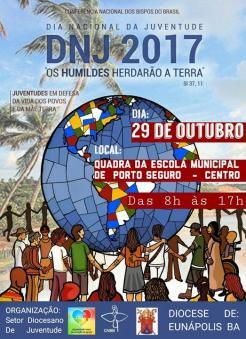 panfleto DNJ 2017 - Dia Nacional Da Juventude