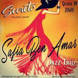 panfleto Safia Ben Amar Jazz Trio