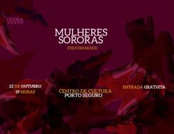 panfleto SomaCorpo - Performance - Mulheres Sororas