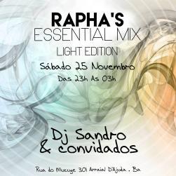 panfleto DJs Sandro Pintori e convidados