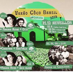 panfleto Caraívana convida Mart'nália