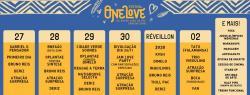 panfleto One Love Festival Caraíva - Revirada