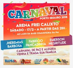 panfleto Carnaval do Frei Calixto