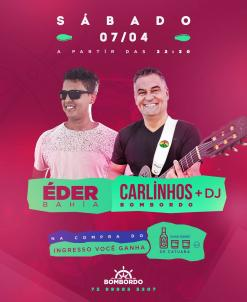 panfleto Bombordo Noite - Eder Bahia/Carlinhos