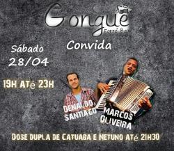 panfleto Denaldo Santiago e Marcos Oliveira