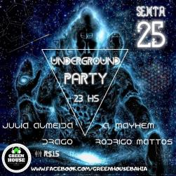 panfleto Underground Party