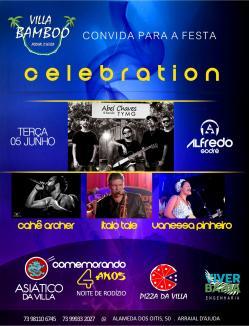 panfleto Celebration