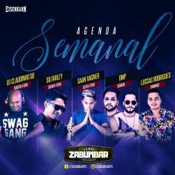 panfleto DJ Claudinho SB