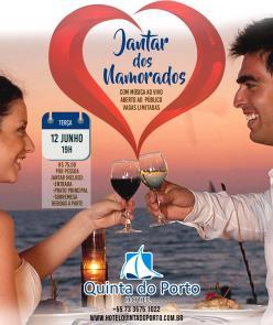 panfleto Jantar dos Namorados