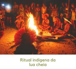 panfleto Ritual indígena Pataxó da Lua Cheia