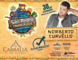 panfleto São Pedro Cabrália 2018 - Norberto Curvêllo