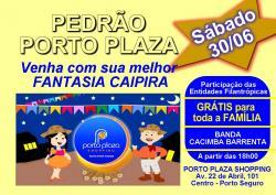 panfleto Pedrão Porto Plaza