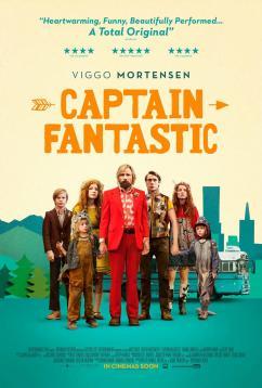 panfleto 'Capitão Fantástico'