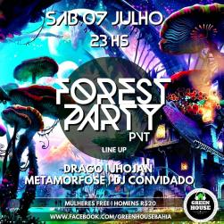 panfleto Forest Party PVT