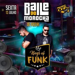 panfleto Baile do Morocha Kings of Funk