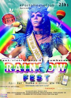 panfleto Rainbow Fest