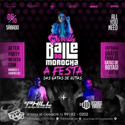 panfleto Baile do Morocha - Gatas de Botas