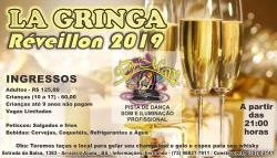 panfleto Réveillon La Gringa 2019