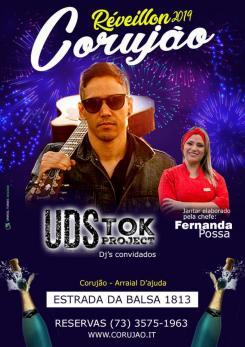 panfleto Reveillon Corujão 2019 - Udstok Project
