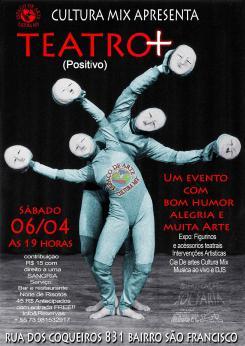 panfleto Teatro Positivo