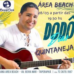 panfleto Quintaneja com Dodô Dias