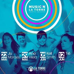 panfleto Music'n La Torre 2019 - Ana Vilela