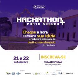 panfleto Hackathon+ Porto Seguro
