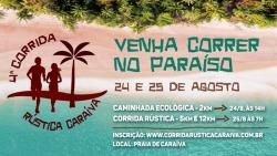 panfleto Caminhada Ecológica