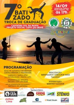 panfleto 7º Batizado de Capoeira