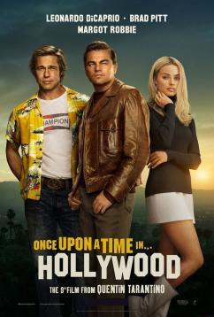 panfleto 'Era uma Vez em... Hollywood'
