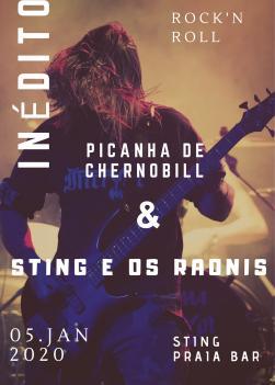 panfleto Picanha de Chernobill