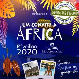 panfleto Réveillon 2020 - Um Convite à África